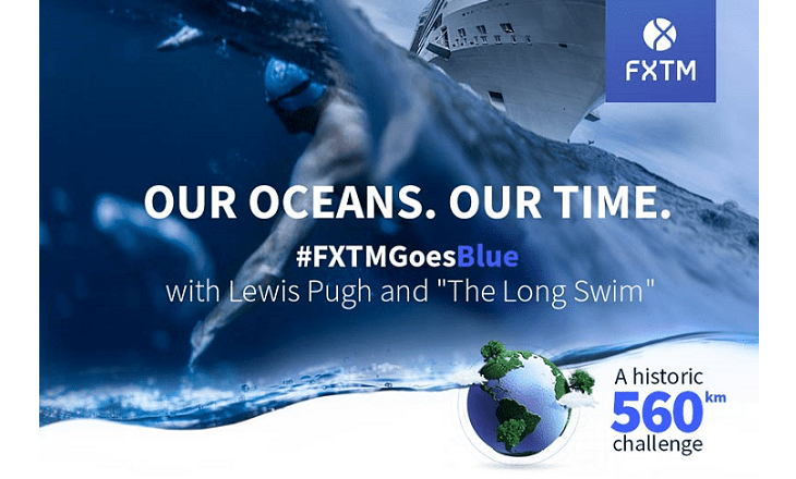 FXTM lewis pugh the long swim