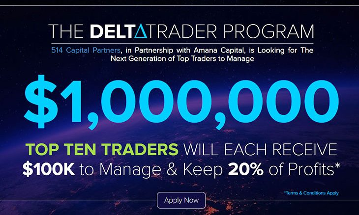 Amana Capital teams up with 514 Capital Partners to launch the Delta Trader program