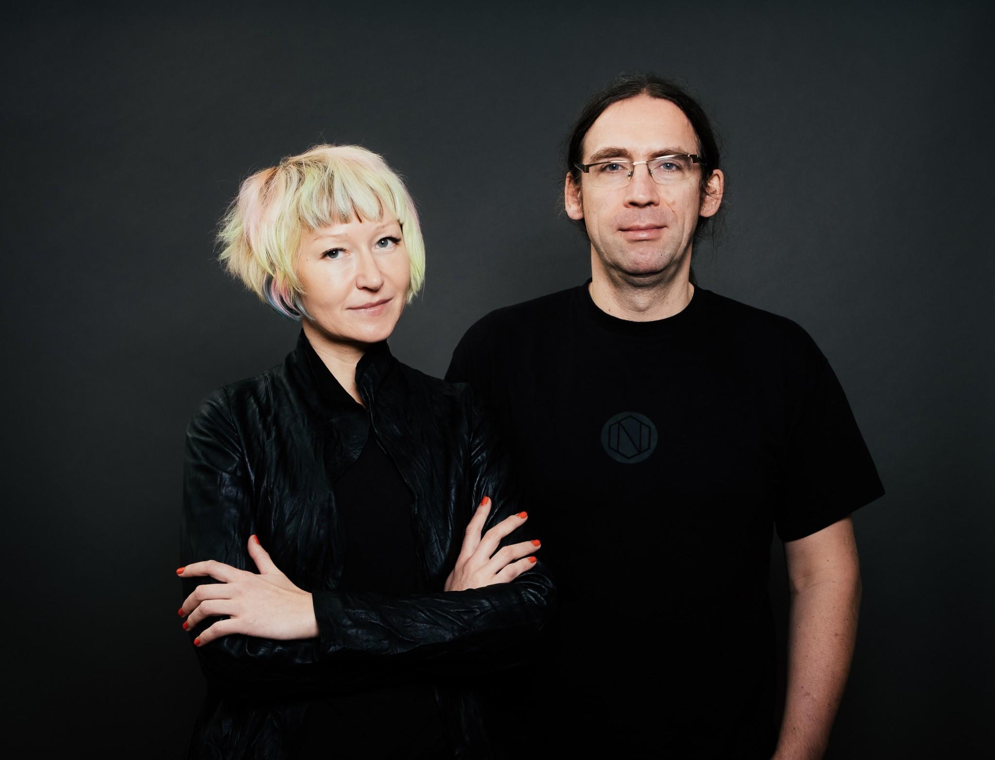 Zoe Adamovicz and Marcin Rudolf, Co-Founders
