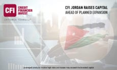 CFI Jordan Raises Capital