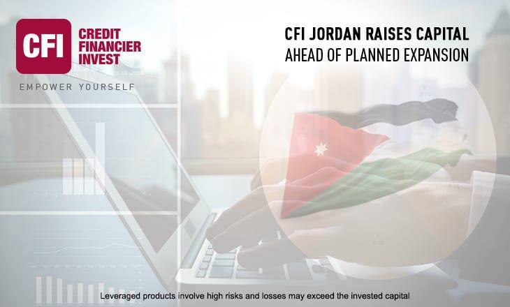 CFI Jordan Raises Capital