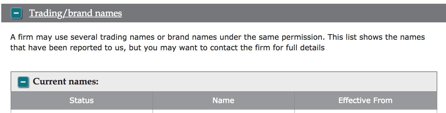 FCA register 6