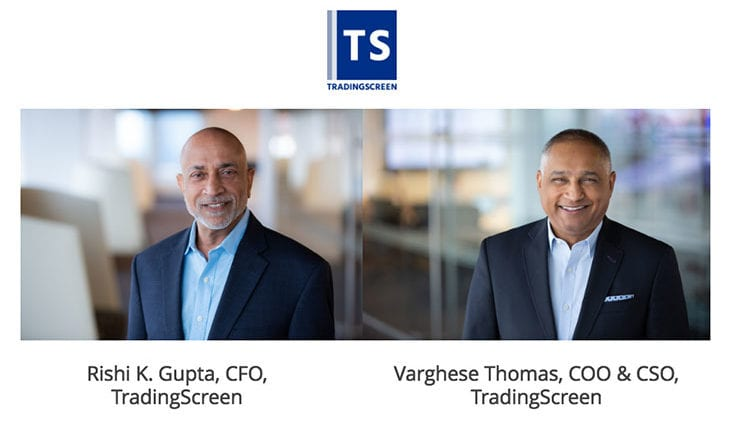 TradingScreen hires former Hotspot FX executive Rishi Gupta as CFO
