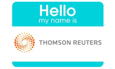 Thomson Reuters Financial & Risk Business is now called Refinitiv