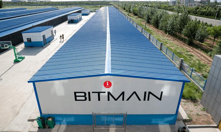 bitmain bitcoin mining chip hardware