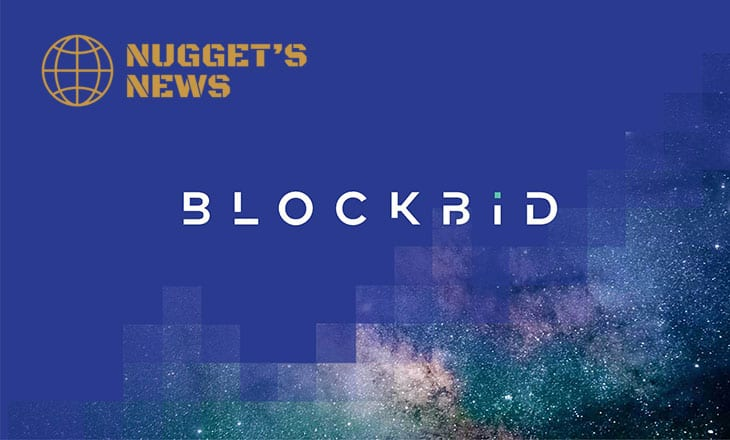 Cryptocurrency trading platform Blockbid teams up with Nugget's News
