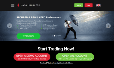 naga markets website