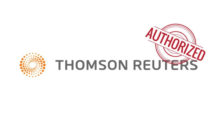 Thomson Reuters is now authorised Benchmark Administrator under the EU BMR
