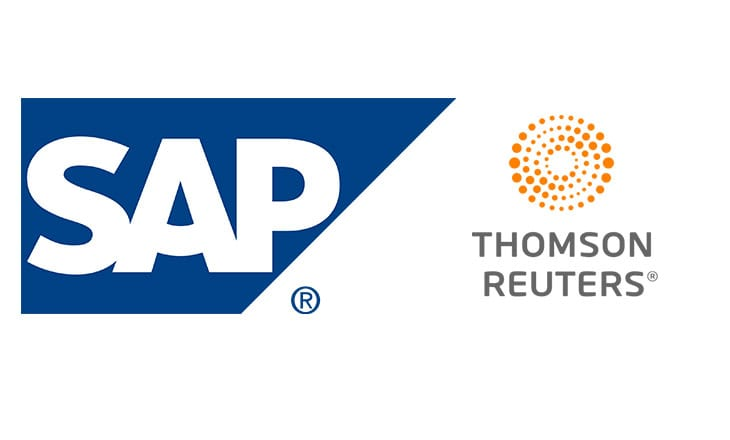 Thomson Reuters and SAP to simplify pricing of cross-border transaction costs on SAP's cloud platform