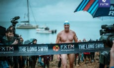 FXTM long swim lewis pugh