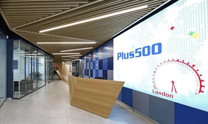 Plus500 office