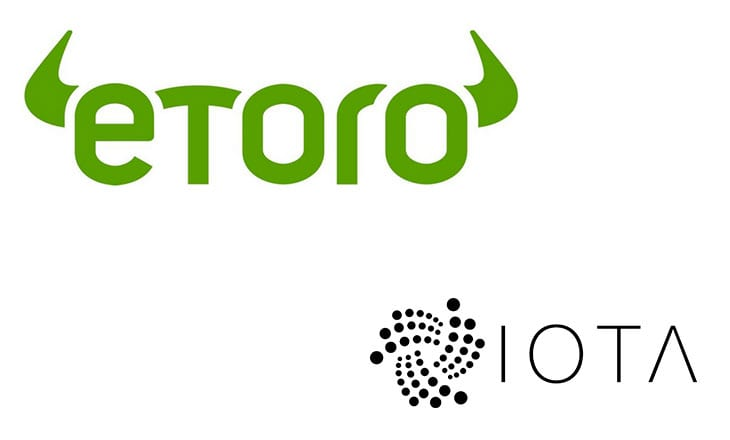 eToro adds IOTA to its list of cryptoassets
