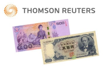 Japanese Yen and Thai Baht crosses added to Thomson Reuters Matching platform