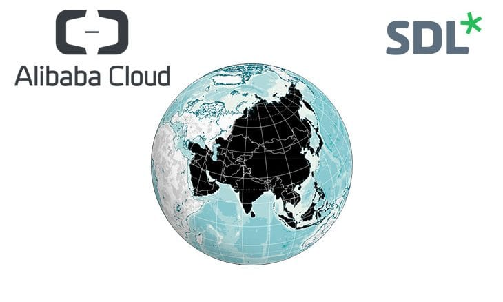 SDL and Alibaba Cloud team up to help brands develop across Asia