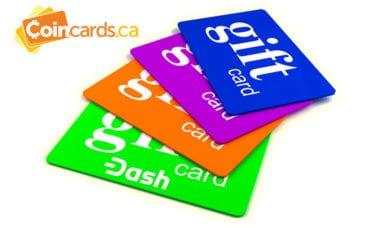 CoinCards.ca customers can now buy Amazon, Netflix and more gift cards using Dash