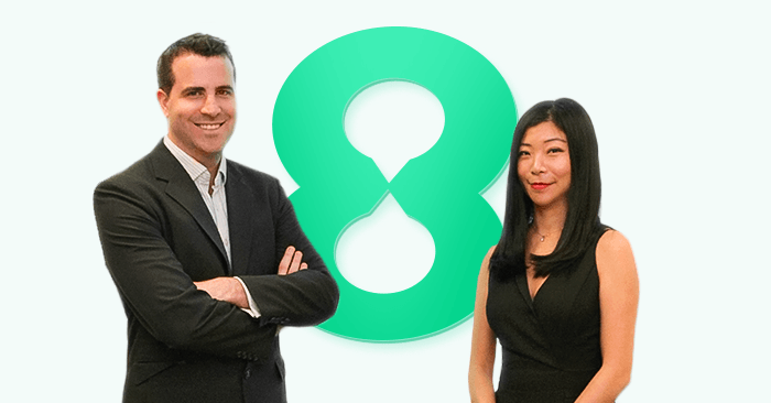 Joel Murphy and Nadia Feng, EightCap