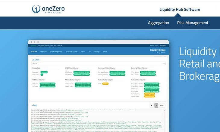 oneZero Financial Systems announces partnership with Jefferies Services