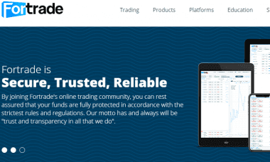 Fortrade website 2018