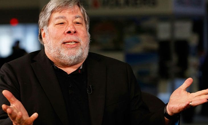 Apple Computer inventor Steve Wozniak becomes co-founder of EQUI Global
