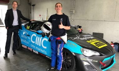 Forex sports sponsorship: CMC Markets partners with motorsport racing prodigy Peter Vodanovich