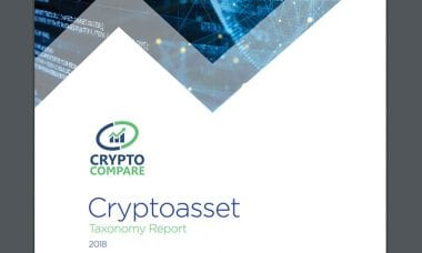 CryptoCompare publishes Cryptoasset Taxonomy Report