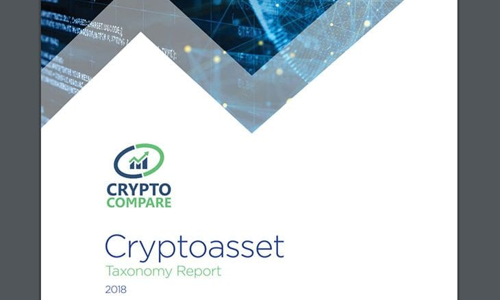 CryptoCompare publishes Cryptoasset Taxonomy Report