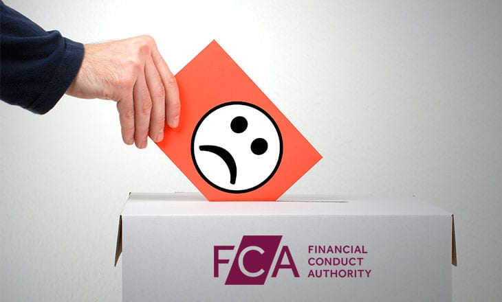 FCA data shows increase in complaints - more than 4 million during 1H 2018