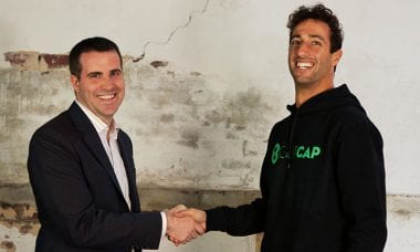 Australia Forex and CFD broker EightCap sponsors F1 driver Daniel Ricciardo