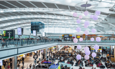 london heathrow shopping wechat pay