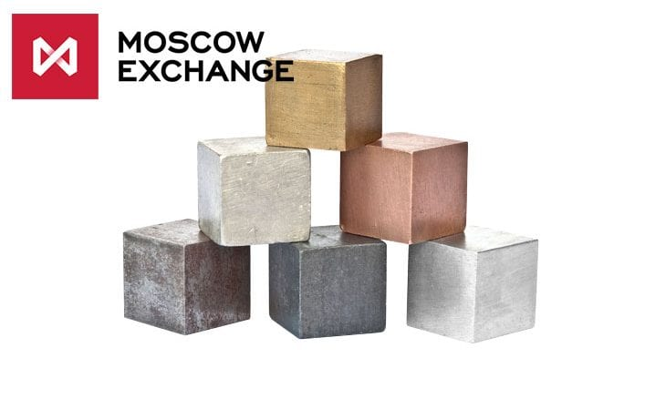 Moscow Exchange launches futures on non-ferrous metals
