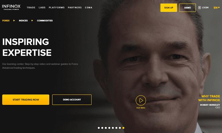 Infinox website