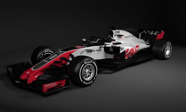 ADSS sponsored driver Louis Deletraz gets first F1 test drive