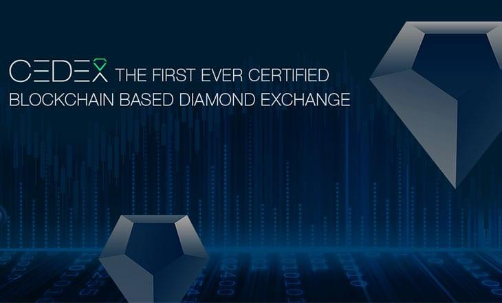 CEDEX blockchain diamond exchange goes live in Beta mode
