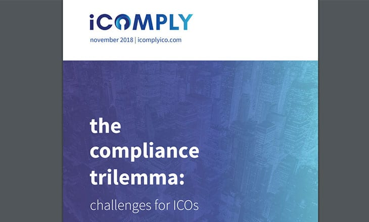 iComply releases University of British Columbia research on ICO and STO compliance