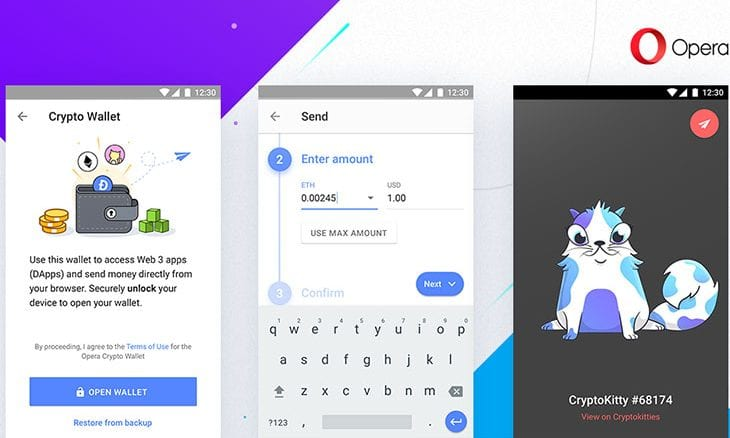 Opera launches new blockchain browser for Android