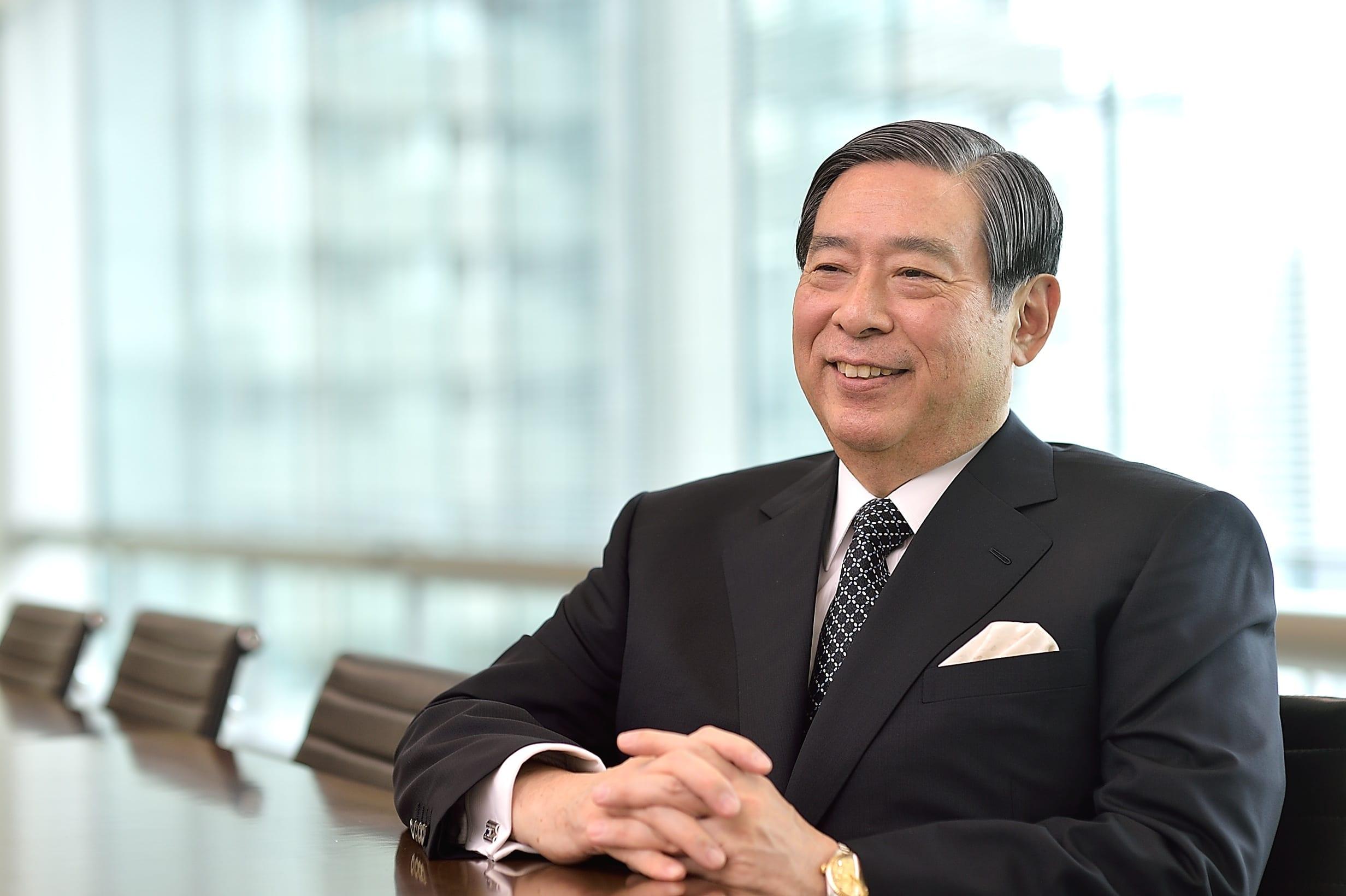 Yoshitaka Kitao, CEO of SBI Group