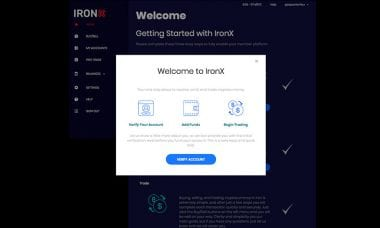Exclusive: CEO Dimitris Hatzis talks about the new IronX Exchange