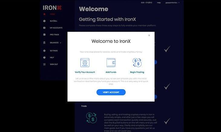 Exclusive: CEO Dimitris Hatzis talks about the new IronX Exchange