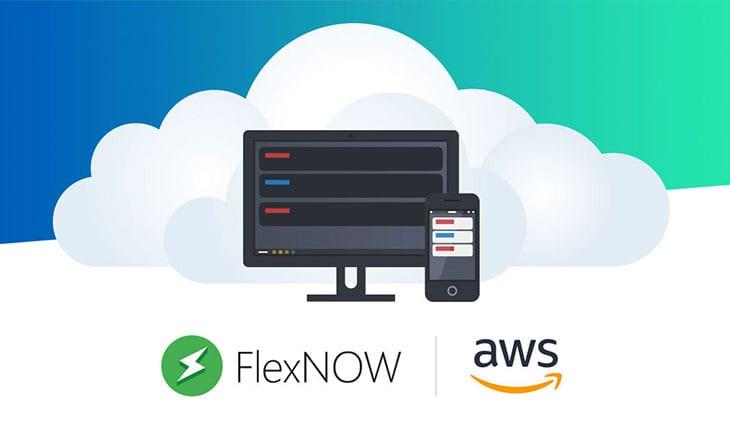 FlexNOW EMS launches through Amazon Web Services