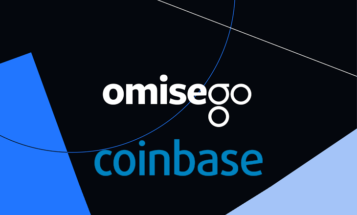 OmiseGO (OMG) on Coinbase website and apps