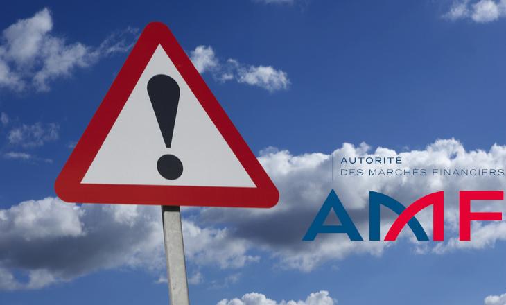 AMF alerts list