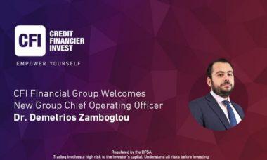 CFI Dubai appoints industry veteran Demetrios Zamboglou as Group COO