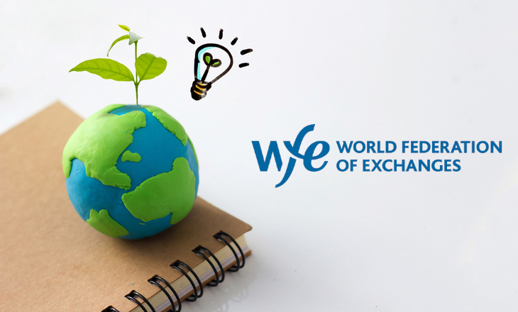 WFE reports 41% of exchanges have initiatives that correspond to the five Sustainability Principles