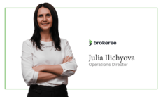 Julia Ilichyova becomes operational director at Brokeree Solutions