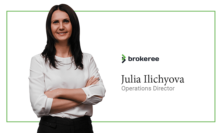 Julia Ilichyova becomes operational director at Brokeree Solutions
