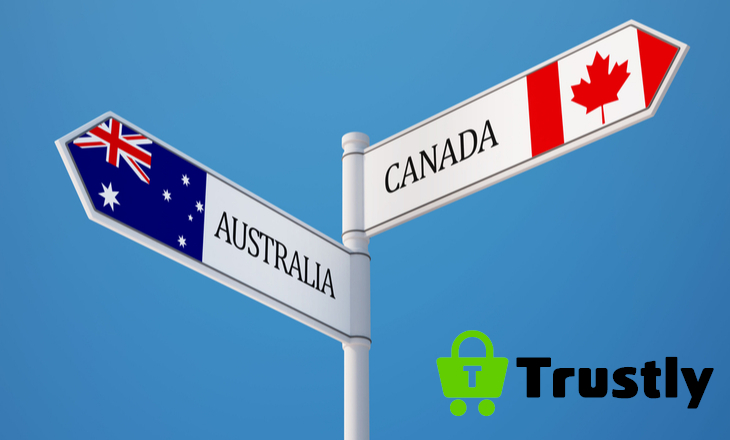 Trustly expands its presence in Australia and Canada