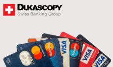Dukascopy Bank and UPS collaborate for 50% lower Visa/Mastercard fees on plastic card delivery