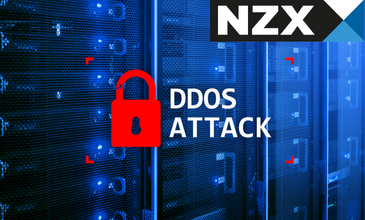 NZX trading again after continued DDoS-linked disruptions