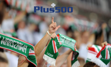 Plus500 selected as primary sponsor of Polish football club Legia Warsaw