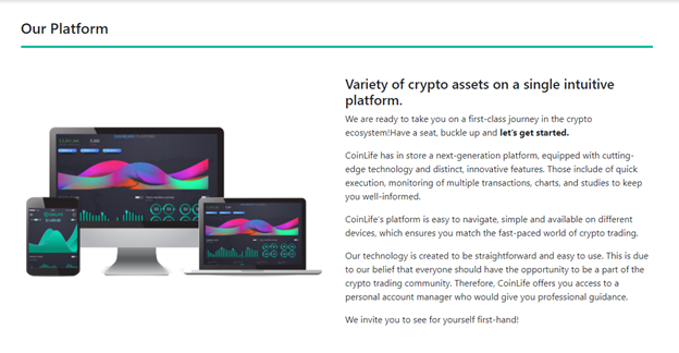 Coinlife platform